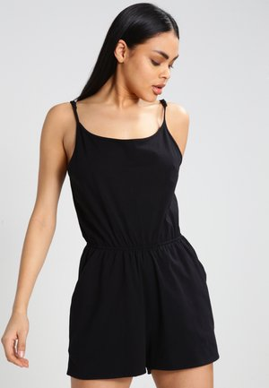 LADIES SHORT SPAGHETTI - Jumpsuit - black