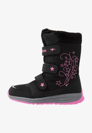 K-STAR BOOT RTX - Snowboots  - jet black/daisy pink