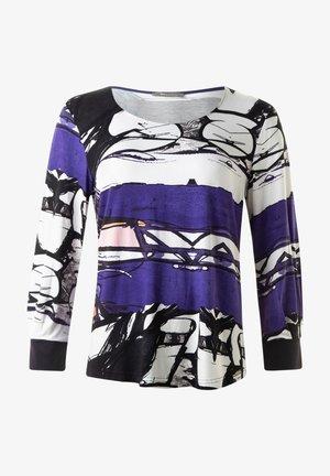 Långärmad tröja - purple