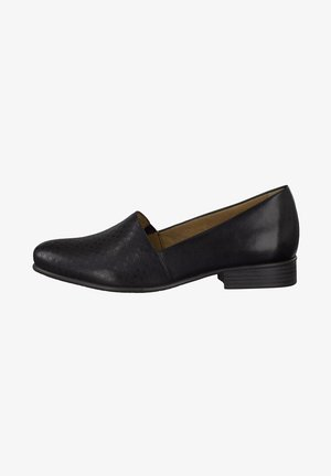 Elegantní nazouvací boty - black struct