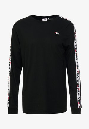 FABRICE LONG SLEEVE  - Long sleeved top - black