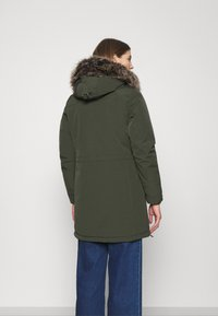 ONLY - ONLNEWSALLY LONG COAT - Winter coat - forest night - 2