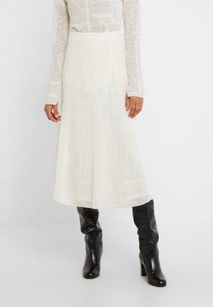 KELISSA - A-line skirt - soft white