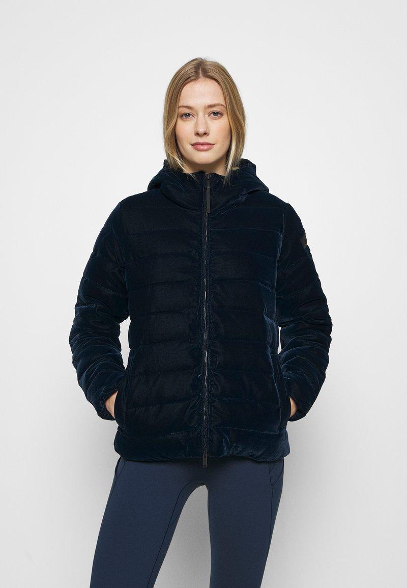 CMP - WOMAN JACKET FIX HOOD - Winter jacket - black blue