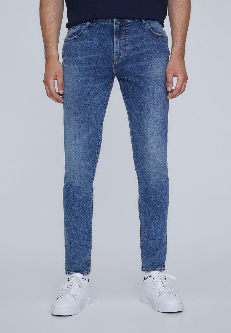 PULL&BEAR - Jeans Skinny Fit - royal blue