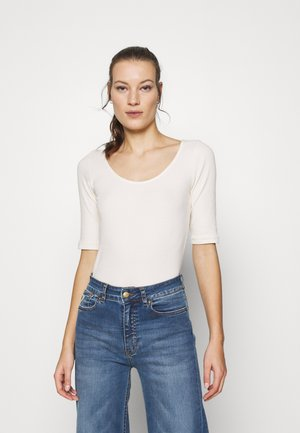 ALEXA TEE - Basic T-shirt - whisper white
