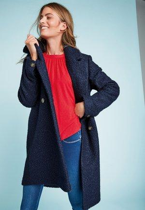 Klassisk frakke - dark blue