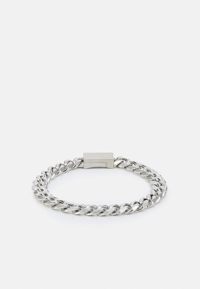 CHAIN FOR HIM - Armband - silver-coloured
