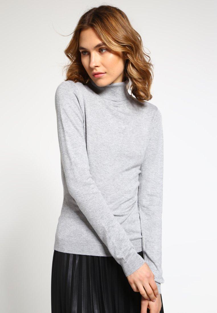 Vero Moda - VMGLORY VIPE - Sweter - light grey melange