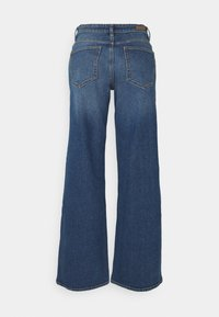 b.young - BYKATO BYLISA WIDE LEGS  - Relaxed fit jeans - mid blue denim - 1