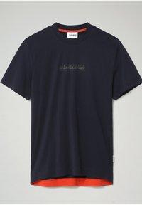 Napapijri - S-OODI - Print T-shirt - blu marine - 0