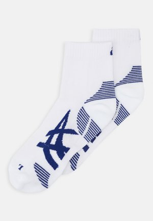 CUSHIONING SOCK 2 PACK  - Sports socks - brilliant white/blue