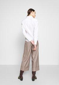 Sisley - Camicia - white - 2