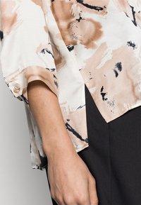 InWear - YEN SHIRT - Button-down blouse - beige - 3