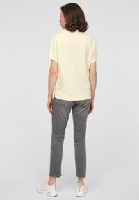 s.Oliver - Basic T-shirt - light yellow - 1