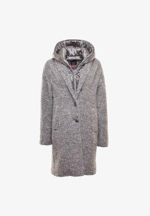 Short coat - silber, grau