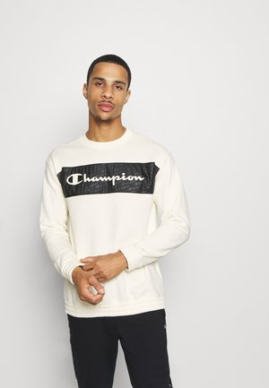 LEGACY HERITAGE TECH CREWNECK - Bluza - off-white/black