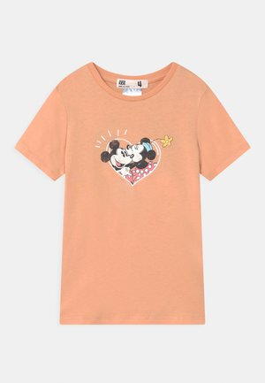 LICENSE SHORT SLEEVE - Print T-shirt - peachy