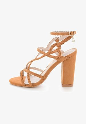 FAVAROTTA  - High heeled sandals - brown