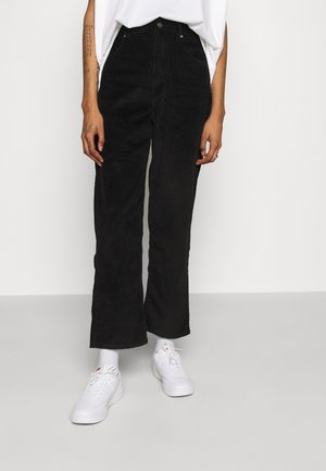 SHELBY - Trousers - black
