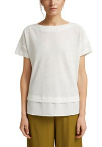 Esprit - Basic T-shirt - off white - 0