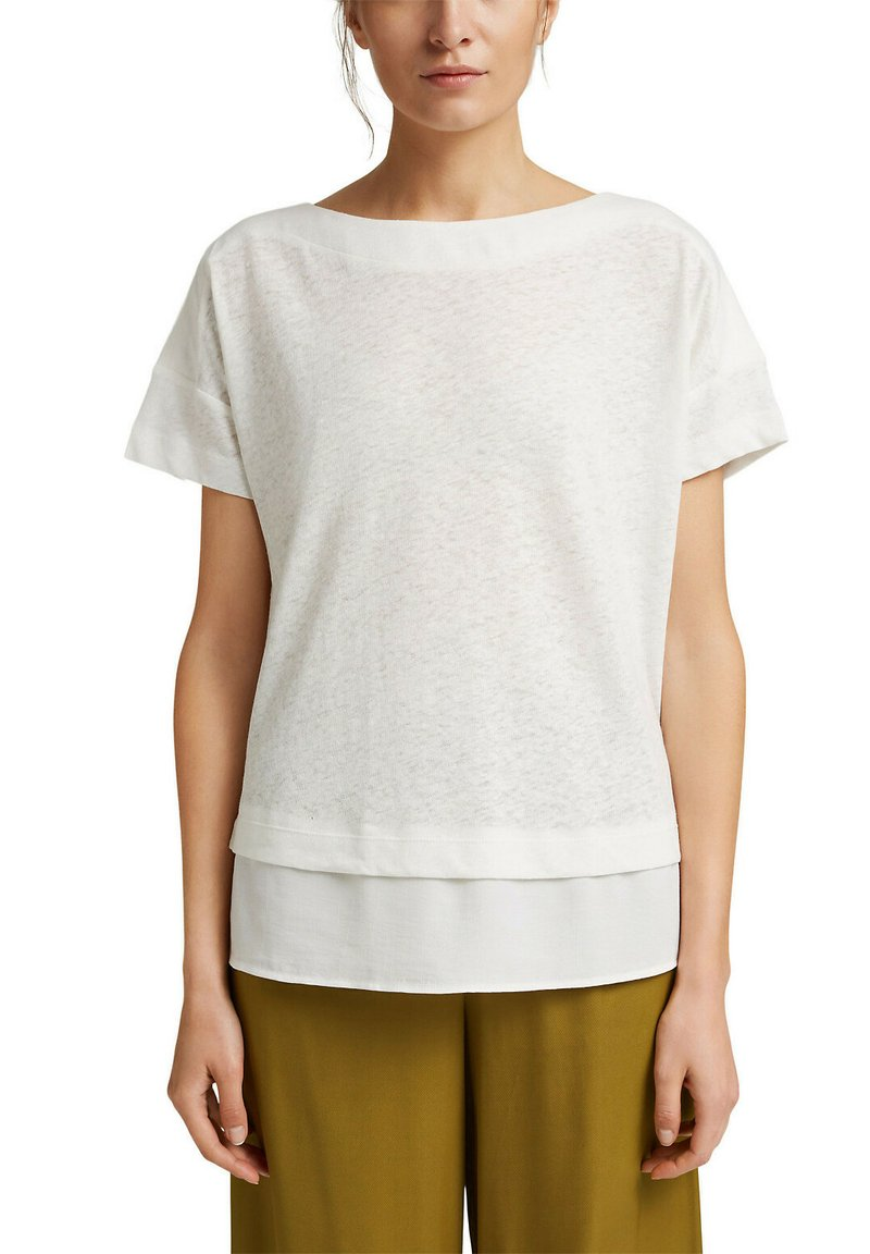 Esprit - Basic T-shirt - off white