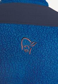 Norrøna - TROLLVEGGEN THERMAL PRO JACKET - Fleece jacket - blue - 6