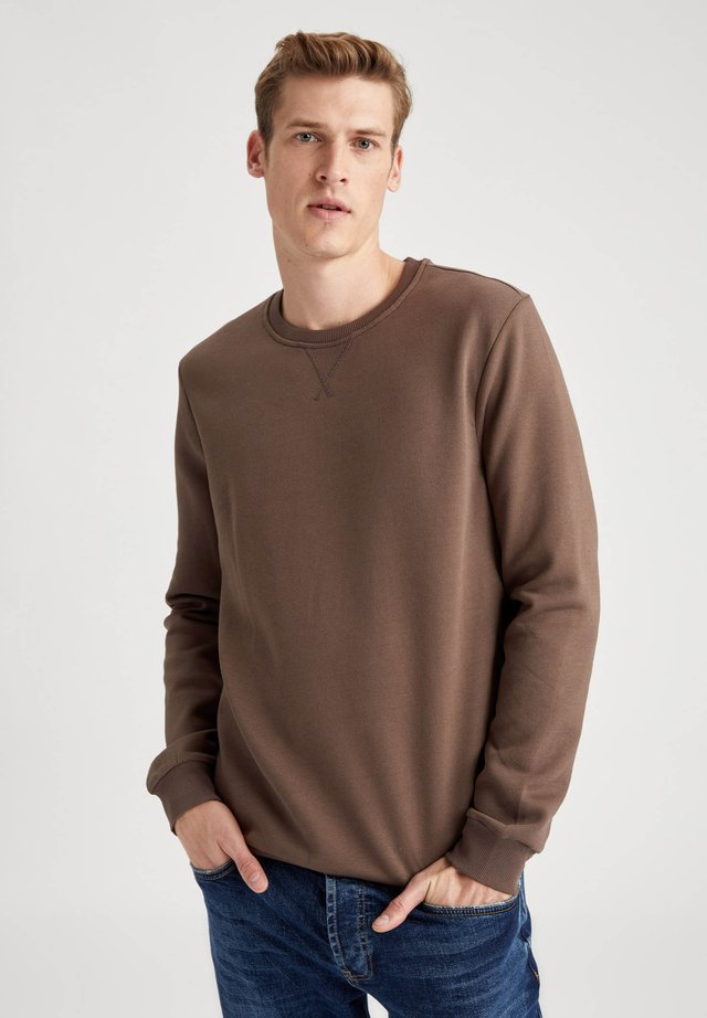 Collegepaita - brown