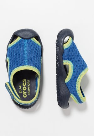 SWIFTWATER RELAXED FIT - Pool slides - blue jean/navy