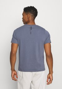 Ecoalf - AVANDARO MAN - Print T-shirt - grey/blue - 2