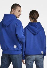 G-Star - UNISEX EMBRO HDD SW - Sweatshirt - bhashor sweat r -blue - 0