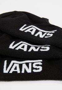 Vans - UA CLASSIC SUPER NO SHOW (6.5-9, 3PK) - Trainer socks - black - 2