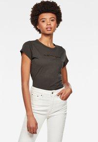 G-Star - EYBEN GRAW FOIL - T-shirt basic - asfalt - 0