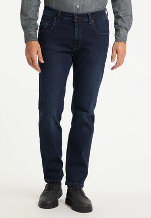 RANDO - REGULAR FIT - Straight leg jeans - dark used