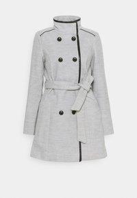 Vero Moda - VMCALAVERONICA  - Zimní kabát - light grey melange - 4
