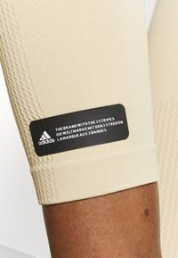 adidas Performance - SCULPT  - Legging - hazy beige - 4