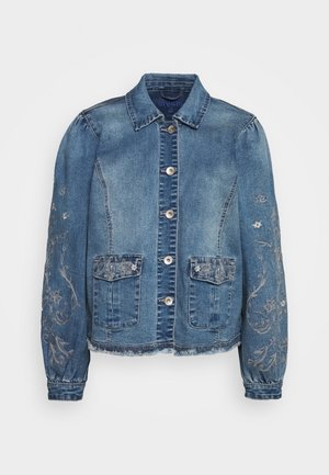 SAVANNA JACKET - Denim jacket - denim blue