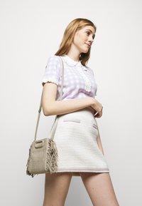 maje - JANESSA - Mini skirt - ecru - 3
