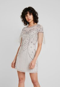 Lace & Beads - ROCHELLE MAXI - Cocktail dress / Party dress - grey - 0