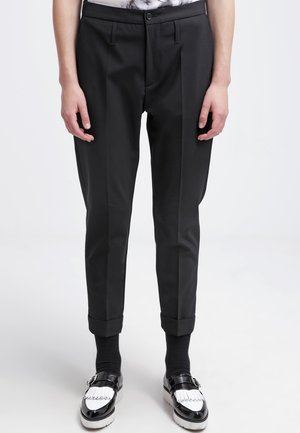 LAW - Trousers - black
