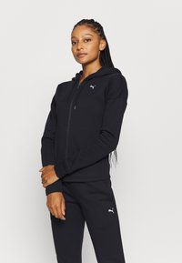 Puma - CLASSIC SUIT SET - Survêtement - black - 0