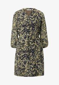TOM TAILOR - Robe chemise - yellow flower design - 5