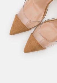 Dorothy Perkins - ETSIE PERSPEX HEEL COURT - High heels - nude - 5