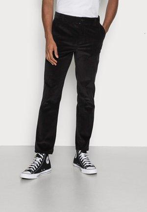 CORDUROY PANTS - Trousers - black