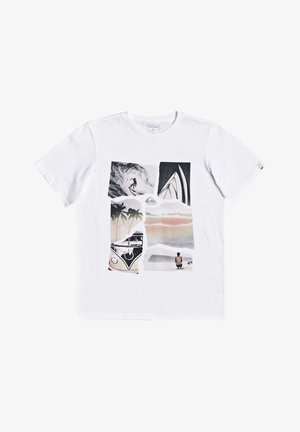 TORN APART YOUTH - Print T-shirt - white