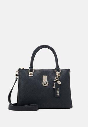 NINNETTE STATUS SATCHEL - Handbag - black