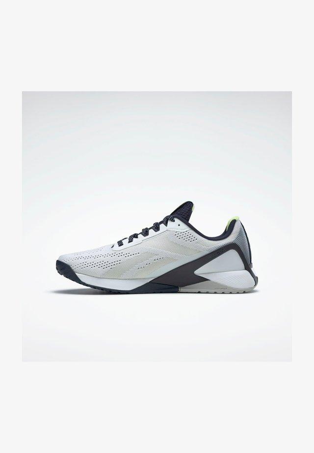 NANO X1 SHOES - Joggesko - white, blue, grey