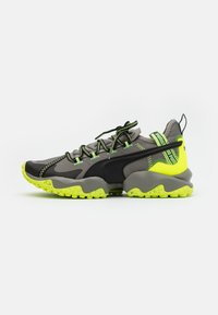Puma - ERUPT TRL - Trail running shoes - ultra gray/fizzy yellow - 0