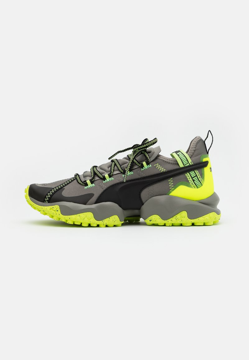 Puma - ERUPT TRL - Trail running shoes - ultra gray/fizzy yellow