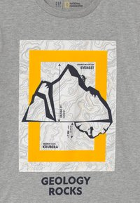 GAP - BOYS NATIONAL GEOGRAPHIC - T-shirt print - grey - 2